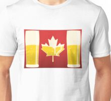 Canada Flag Beer Unisex T-Shirt
