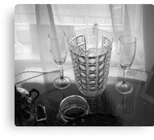 Sheer Glass Metal Print