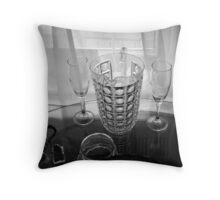 Sheer Glass Throw Pillow