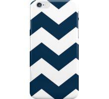Navy Blue Chevron  iPhone Case/Skin