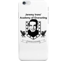 Jeremy Irons Academy iPhone Case/Skin