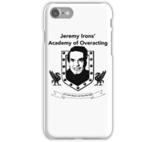 Jeremy Irons Academy iPhone Case/Skin