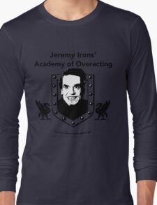 Jeremy Irons Academy Long Sleeve T-Shirt