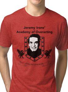 Jeremy Irons Academy Tri-blend T-Shirt