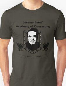 Jeremy Irons Academy Unisex T-Shirt
