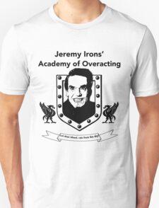 Jeremy Irons Academy T-Shirt