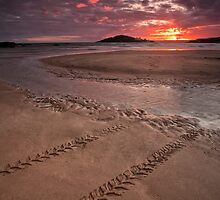 Sunset over Burgh Island by AndyCosway