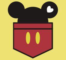 [Men] Mickey's Love Baby Tee
