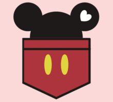 [Men] Mickey's Love Kids Tee