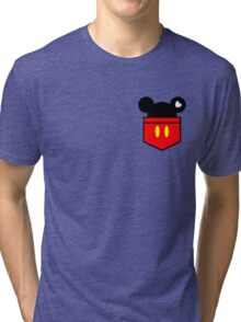 [Men] Mickey's Love Tri-blend T-Shirt