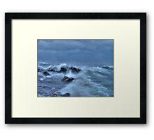 Savage Seas Framed Print