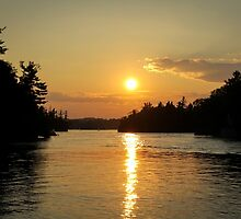 1000 Islands Sunset by Jenn Kellar
