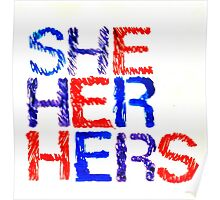 She, Her, Hers Poster