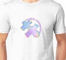 Autism awareness pastel puzzle piece Unisex T-Shirt