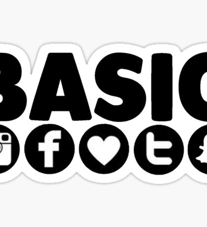 Basic Social Media Sticker
