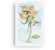 drEyed Rose Canvas Print