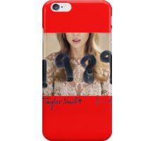 Taylor swift DLX 1989 iPhone Case/Skin