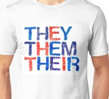 They, Them, Their Unisex T-Shirt