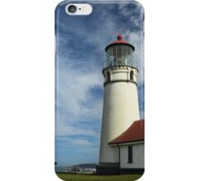 The Lighthouse At Cape Blanco iPhone Case/Skin