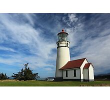 The Lighthouse At Cape Blanco Photographic Print