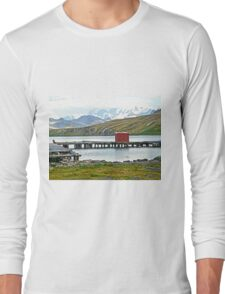 Whaling Station Dock Long Sleeve T-Shirt