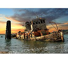 The Sunset Years Of The Mary D. Hume Photographic Print