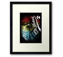 Omar Little - Oh Indeed (Rainbow) - Cloud Nine Edition Framed Print