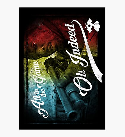 Omar Little - Oh Indeed (Rainbow) - Cloud Nine Edition Photographic Print