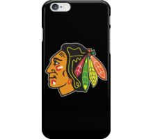 Blackhawks (Black) iPhone Case/Skin