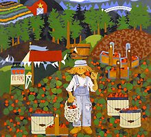Strawberry Picker by Dawn Peterson