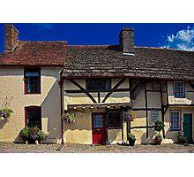 Village Tudors Photographic Print