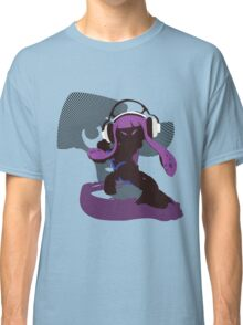 Purple Female Inkling - Sunset Shores Classic T-Shirt
