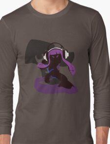 Purple Female Inkling - Sunset Shores Long Sleeve T-Shirt
