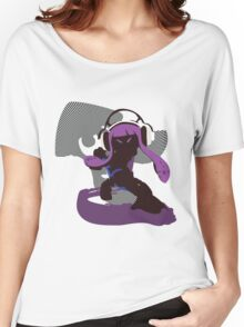 Purple Female Inkling - Sunset Shores Women's Relaxed Fit T-Shirt