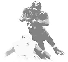 Running Back Collection Photographic Print