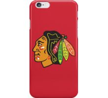 Blackhawks (Red) iPhone Case/Skin