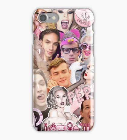 Rupaul's Drag Race Aryan Airlines iPhone Case/Skin
