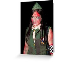 Zombie 12 Greeting Card