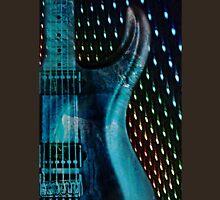 electric guitar blue Unisex T-Shirt