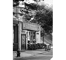 Corner Cafe Photographic Print