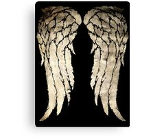 Daryl Dixon's  Zombie Wings Canvas Print