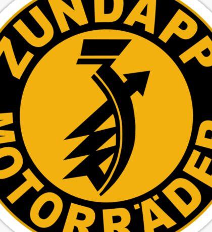 Zundapp Shirt Sticker
