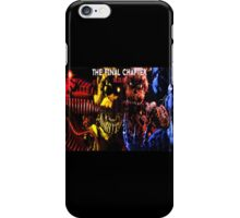 The final Chapter FNAF iPhone Case/Skin