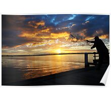 Catching  the Sun Poster