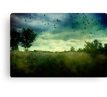 Murder in the Air Canvas Print