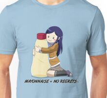 Natsuki Kuga: Mayonnaise Lovers Unite! Unisex T-Shirt