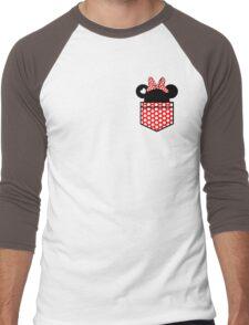 [Women] Minnie's Love Men's Baseball ¾ T-Shirt