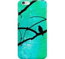 Bird in Tree Texture iPhone Case/Skin