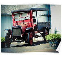 ANTIQUE TRUCK Poster