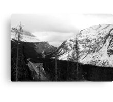 Icefields  Parkway - Banff Canada Canvas Print